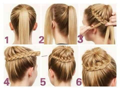 1 como hacer peinados recogidos faciles paso a paso 1638 2