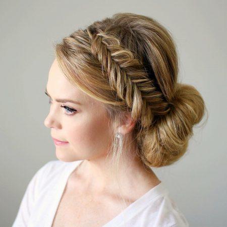 20 ideas de peinados recogidos 7