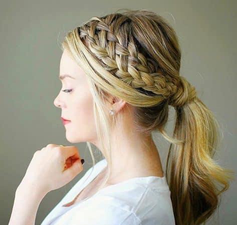 20 ideas de peinados recogidos trenzas