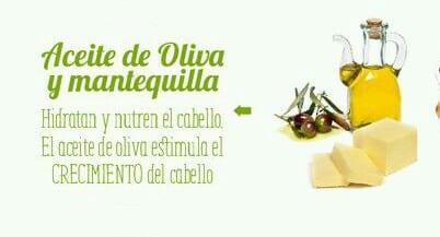 Aceite de Oliva y Mantequilla - Mascarillas para el cabello