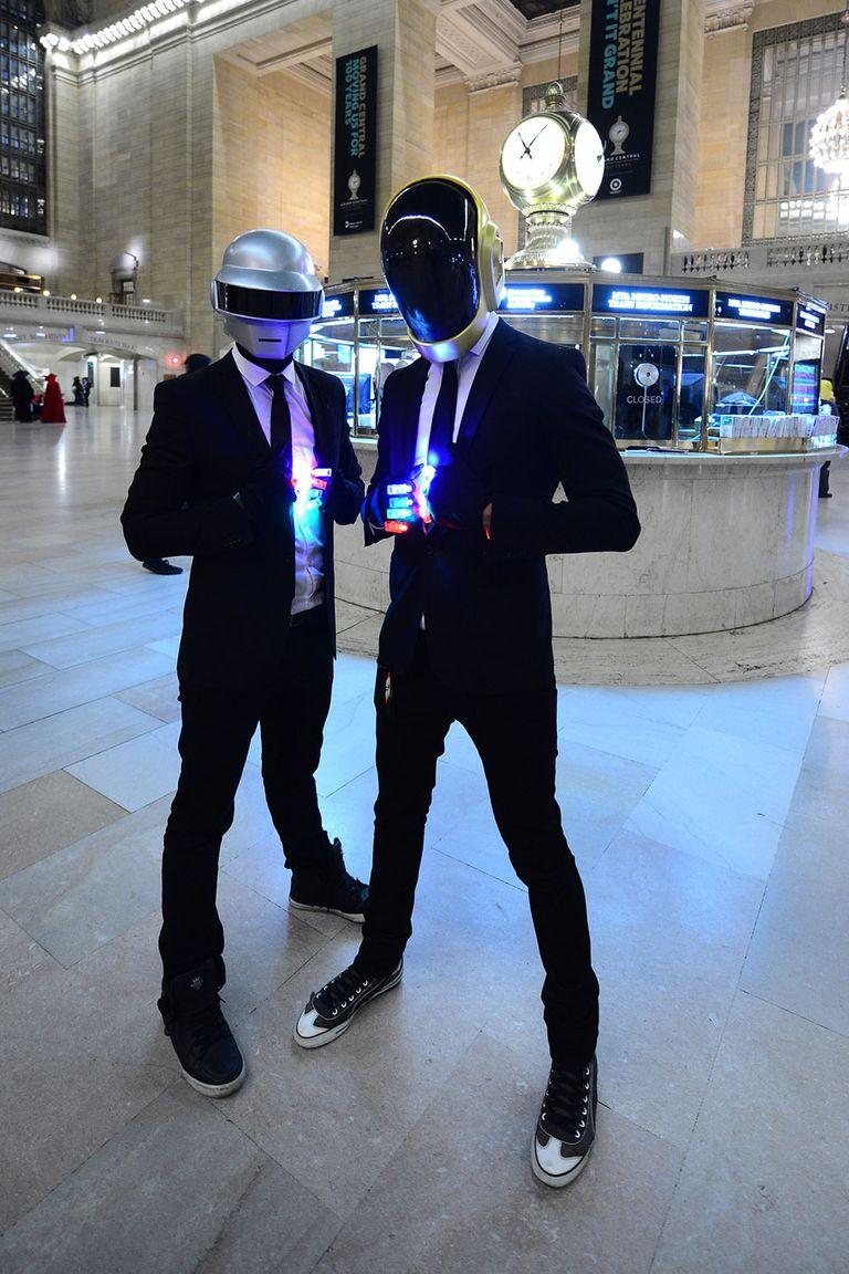 Daft Punk disfraz para halloween