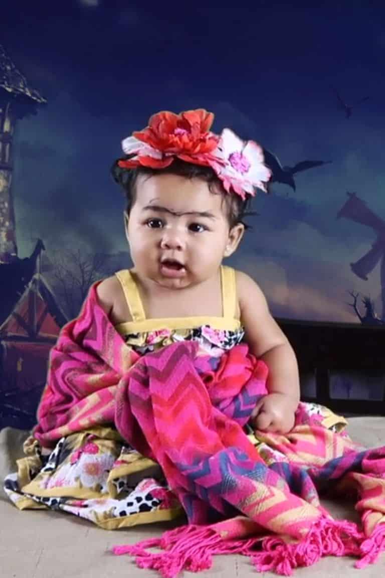 Frida Kahlo disfraz para ninas