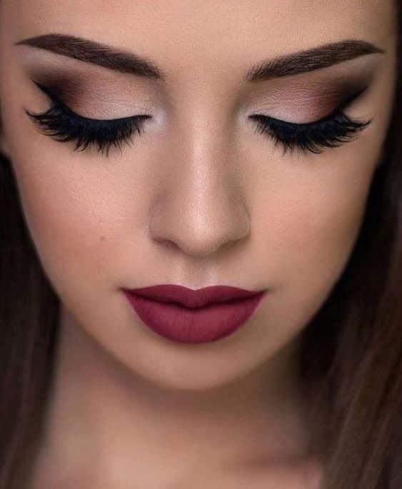 Maquillaje de Noche para vestido negro