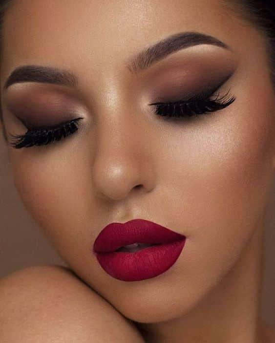 Maquillaje de noche para fiesta
