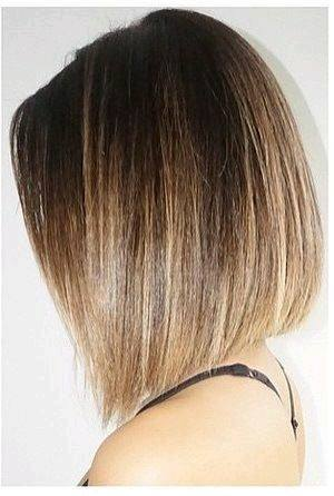 Mechas californianas en cabello corto 17