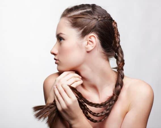 Peinados Fáciles Cabello Largo Trenza