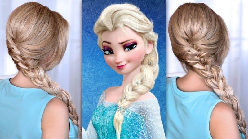 Trenzas a lo Frozen