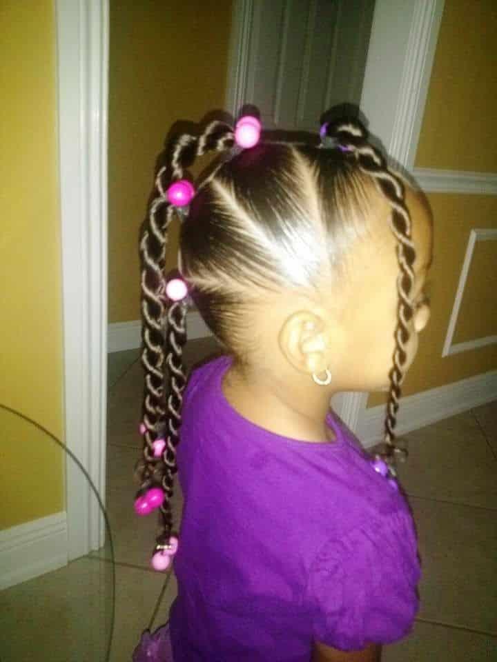 Trenzas de cuerda para el cabello