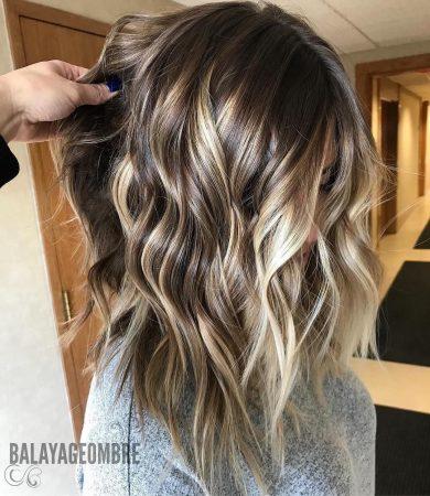 balayage cabello corto