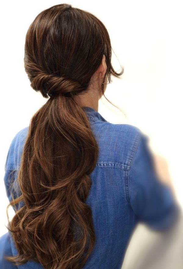 cabello estilo pony
