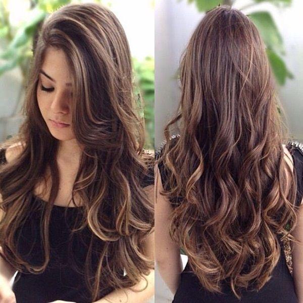 Corte de cabello largo imagenes