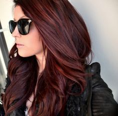cabello rojo tinte