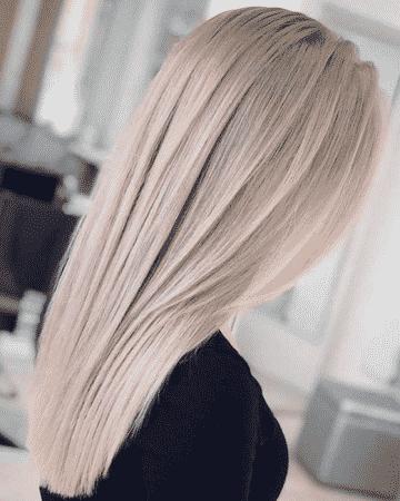 colo de cabello cenizo