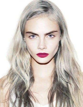 color de cabello blanco