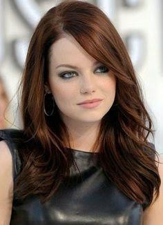 Color de pelo para una mujer blanca