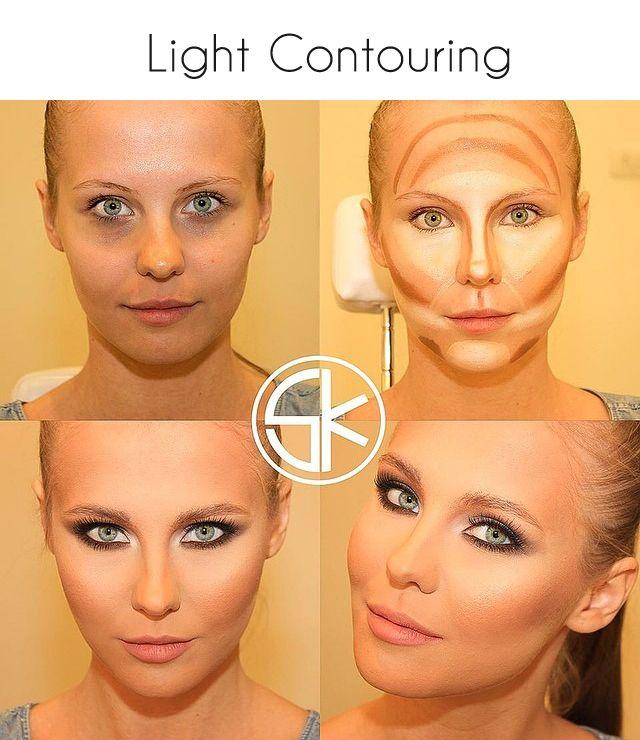 contouring maquillaje ocultar