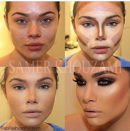 contouring maquillaje productos