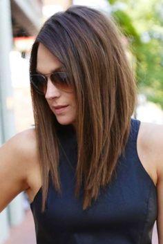 Corte de pelo largo atras