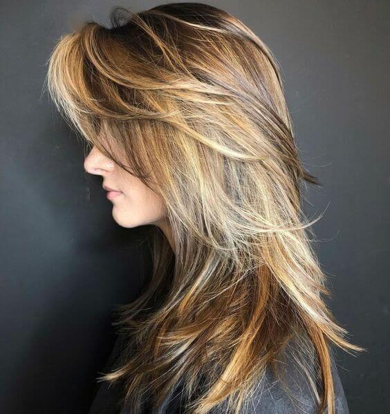 corte pelo en capas una misma