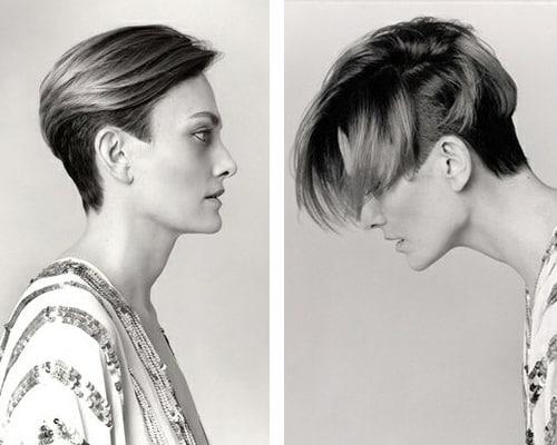 Corte de pelo pelado a los costados