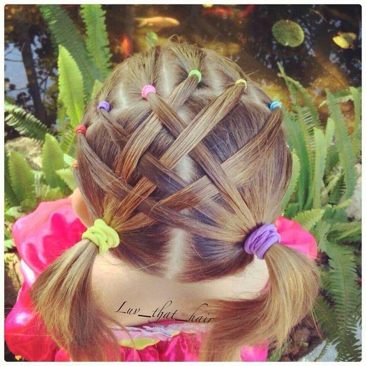 Más notable peinados de flamenca para niñas Imagen De Tendencias De Color De Pelo - 37 Peinados con Ligas para Niñas ¡FÁCILES y NUEVOS!