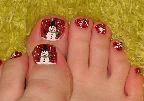 decoracion-unas-navidenas-parar-pies