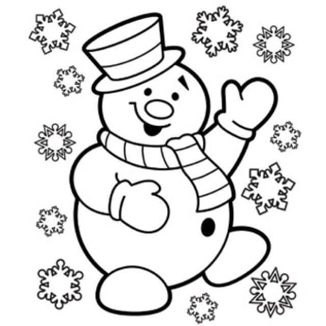 Imagenes de dibujos de navidad para colorear e imprimir