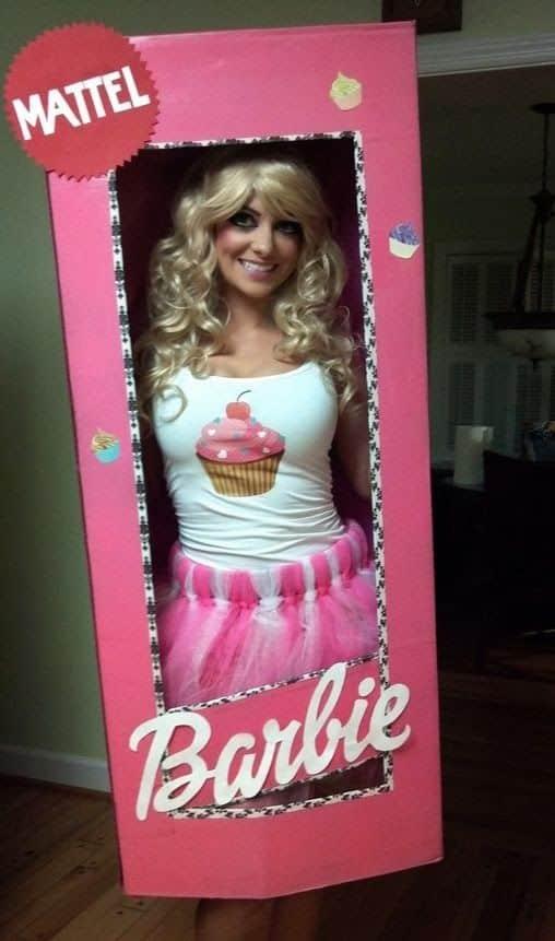 disfraz de barbie para halloween
