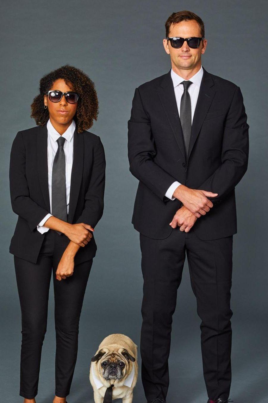 disfraz hombres de negro