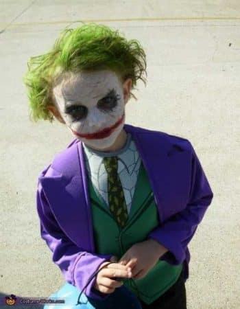 disfraz joker casero