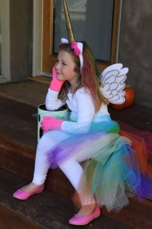 disfraz unicornio halloween casero