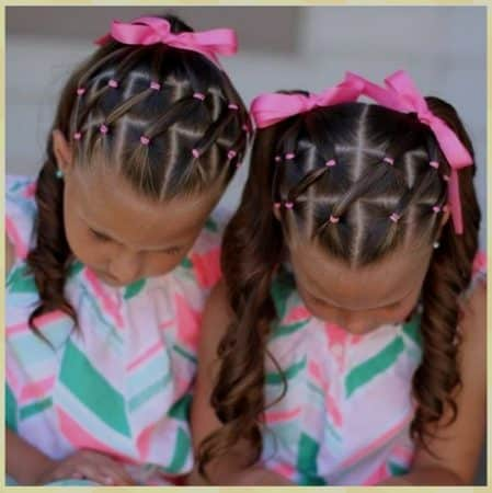 elegante peinados faciles para ni as 4 a os lindas ideas de peinados faciles para ni as con ligas en 12