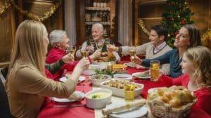 felicitaciones reuniones familiares fiestas navidenas