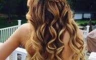 fiesta ondas peinados