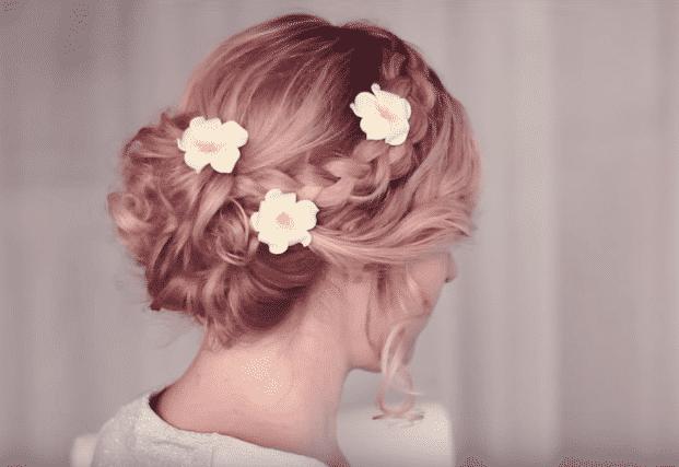 imagenes peinados recogidos para 15 anos
