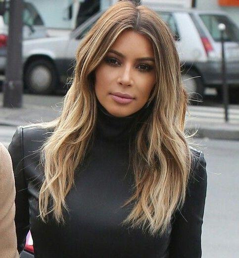 kim kardashian contouring pelo