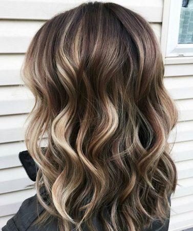 mechas de color para cabello