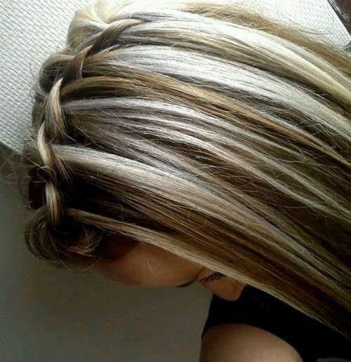 mechas platinadas cabello estilos mda tendencias 5