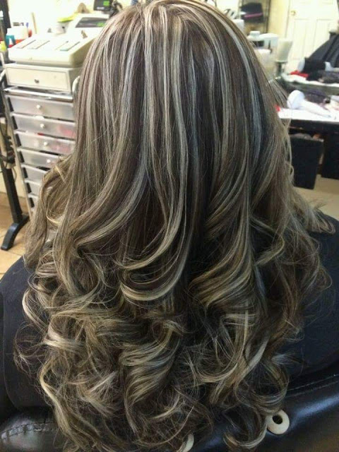 mechas platinadas cabello estilos mda tendencias