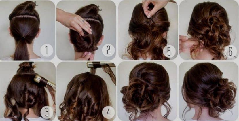 mejor peinados para fiestas recogidos paso a paso peinados recogidos paso a paso para fiestas