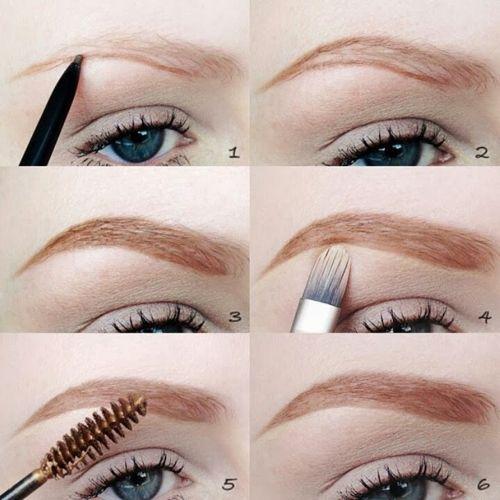 pasos para maquillar las cejas
