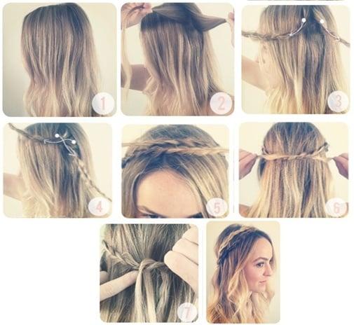 Peinados bonitos con trenzas paso a paso