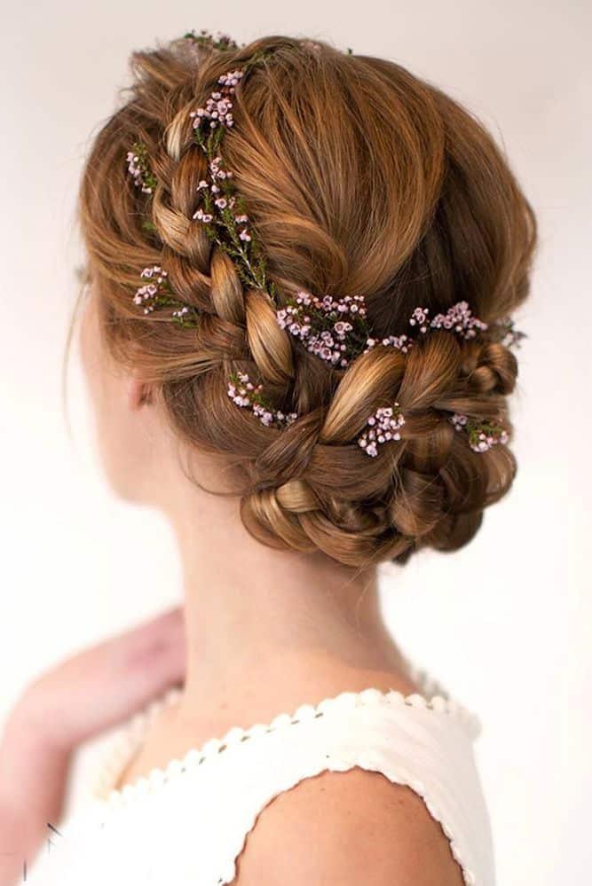 Peinados para novias faciles de hacer