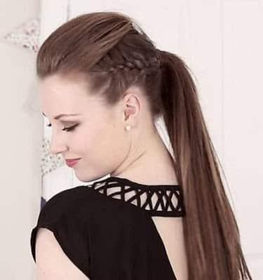 Peinados de cabello no tan largo
