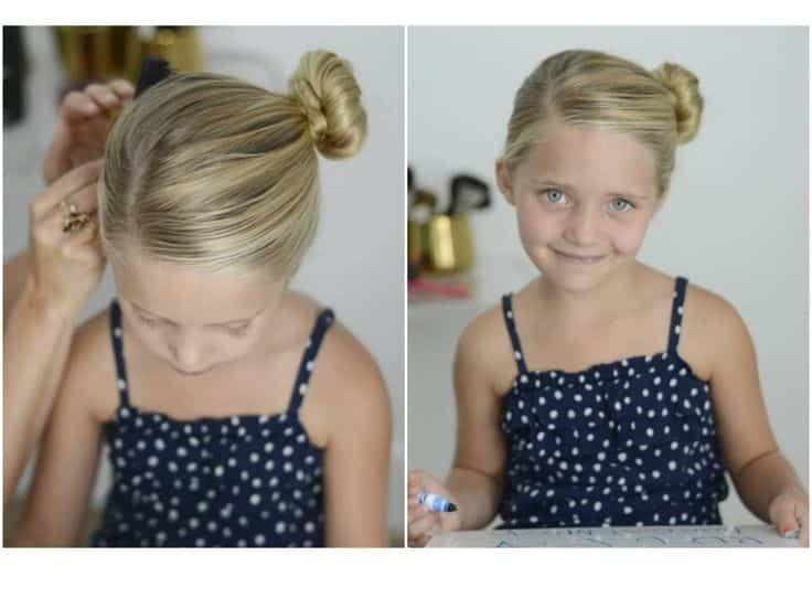 Minimalista peinados para ir al colegio Fotos de tutoriales de color de pelo - 75 Peinados para la Escuela Fáciles y Rapidos Paso a Paso