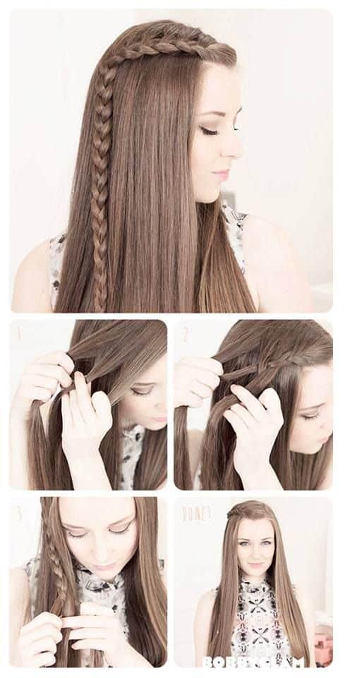 De moda peinados para ir al colegio Fotos de ideas de color de pelo - 75 Peinados para la Escuela Fáciles y Rapidos Paso a Paso