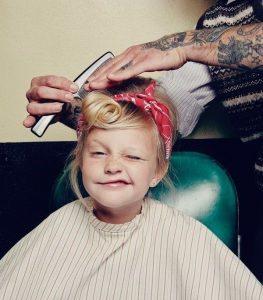 peinado para niñas halloween1