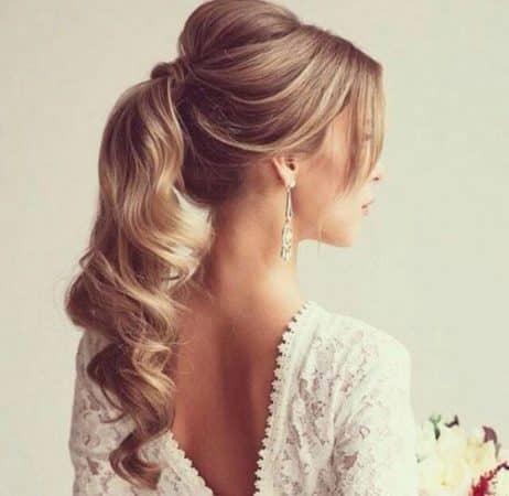 peinado sencillo y elegante 2