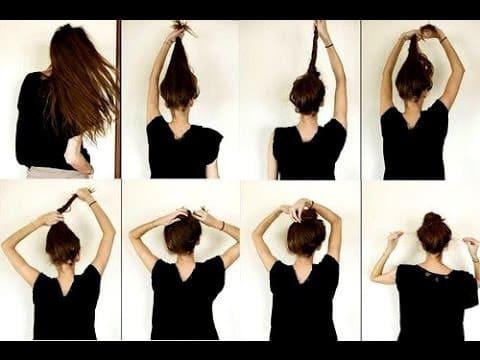peinado veloz poco tiempo