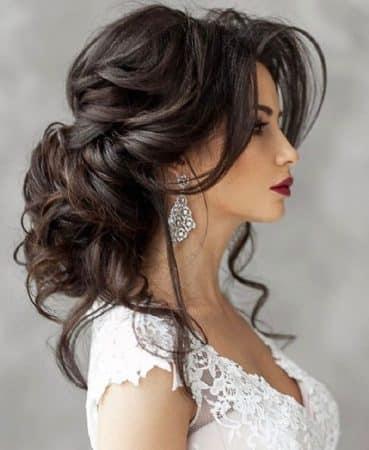 peinados bodas elegantes volumen